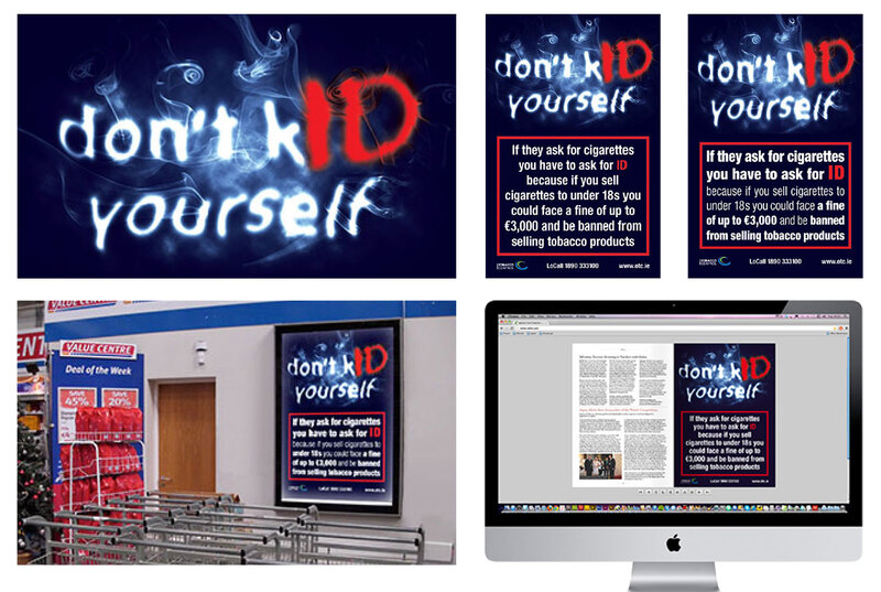 Press, radio, POS and digital ad campaign for the Office of Tobacco Control by Drydesign