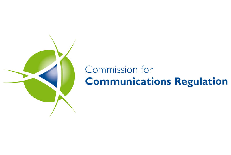 Corporate logo for Commission for Communications Regulation by Drydesign