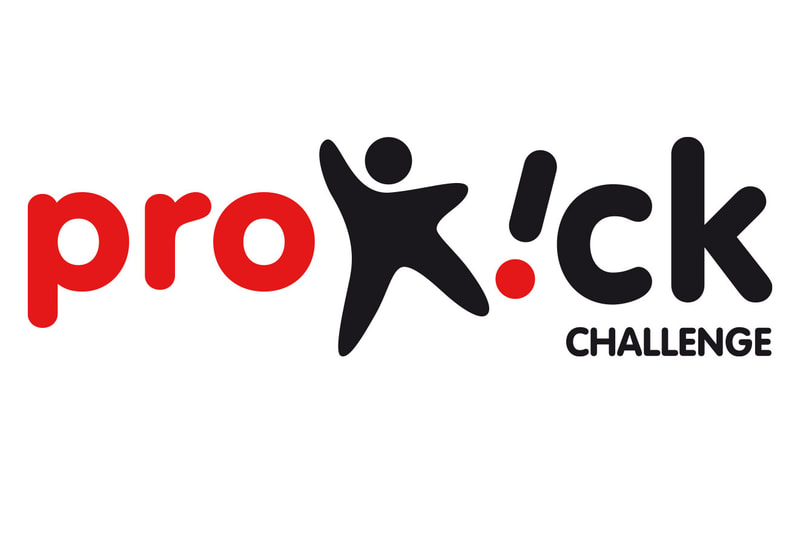 Brand logo for the ProKick Challenge by Drydesign
