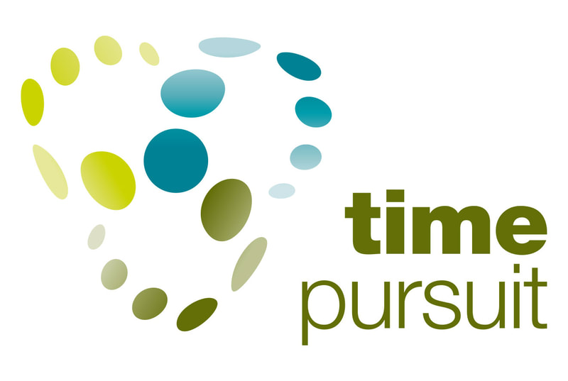 Brand logo for Time Pursuit by Drydesign